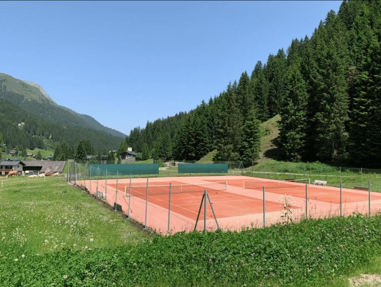 Tennisplatz Gargellen