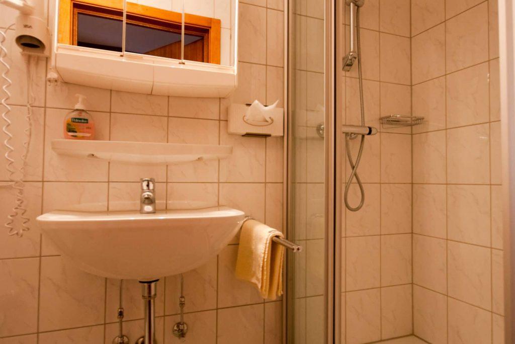 Single room 1+2, bathroom
